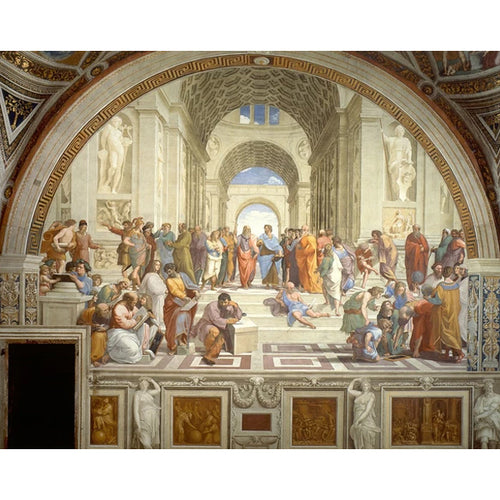 The School of Athens - Raphael DIY Painting By Numbers Kit