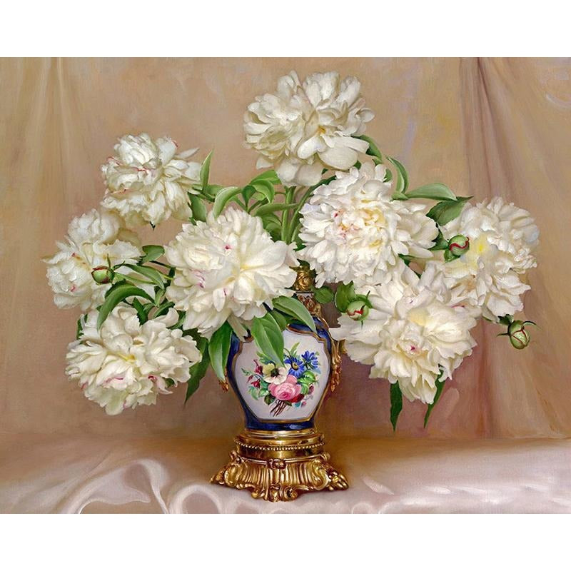 White Vase - DIY Painting By Numbers Kits