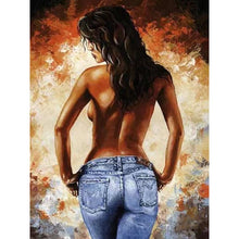 Topless Woman - DIY Painting By Numbers Kits