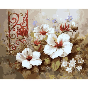 Gardenia - DIY Painting By Numbers Kits