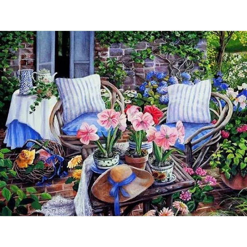 Cozy Garden - DIY Painting By Numbers Kits