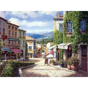 Beautiful Village - DIY Painting By Numbers Kits