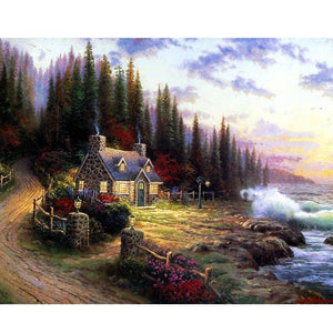 House in Seclusion - DIY Painting By Numbers Kits