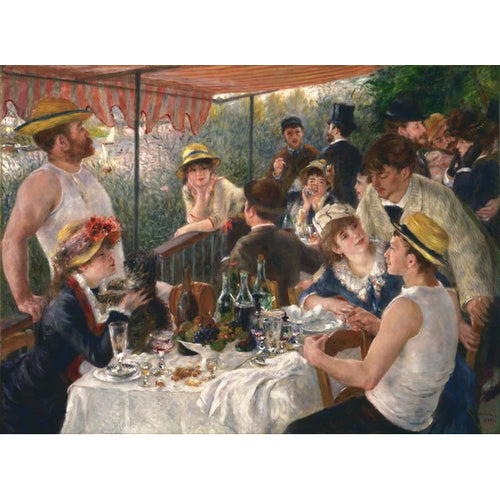 Luncheon Of The Boating Party - August Renoir DIY Painting By Numbers Kit