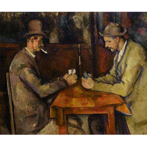 The Card Players- Paul Cezanne DIY Painting By Numbers Kit