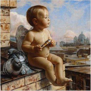 Angel Kid - DIY Painting By Numbers Kits