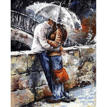 Couple Kissing - DIY Painting By Numbers Kits