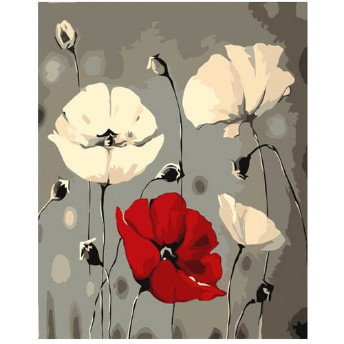 Three Blossoms - DIY Painting By Numbers Kits