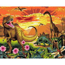 Dinosaur World - DIY Painting By Numbers Kits