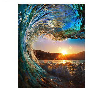 Huge Wave - DIY Painting By Numbers Kits