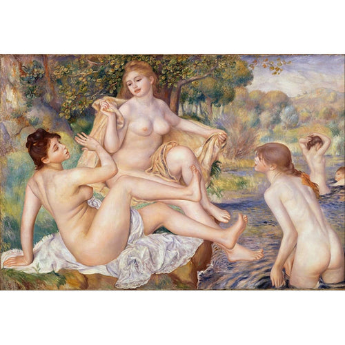 Les Grandes Baigneuses - August Renoir DIY Painting By Numbers Kit