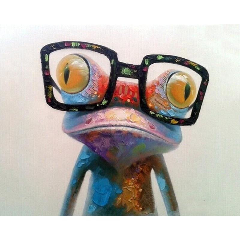 Crazy Chameleon - DIY Painting By Numbers Kits
