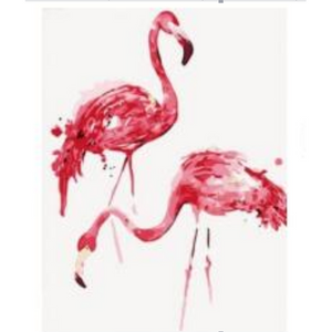 Flamingos - DIY Painting By Numbers Kits