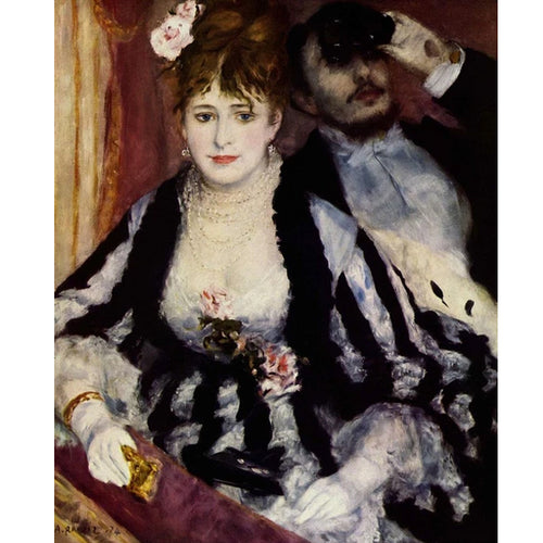 La Loge - August Renoir DIY Painting By Numbers Kit