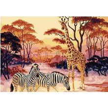Jungle Friends - DIY Painting By Numbers Kits