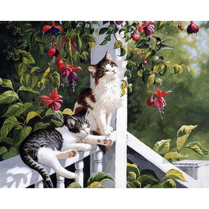 Meow Meow - DIY Painting By Numbers Kit