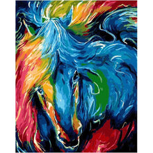 Colorful Horse - DIY Painting By Numbers Kit