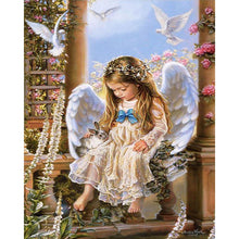 Doves and Angel - DIY Painting By Numbers Kit