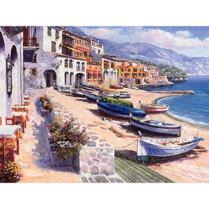 Opulent Ocean View - DIY Painting By Numbers Kit