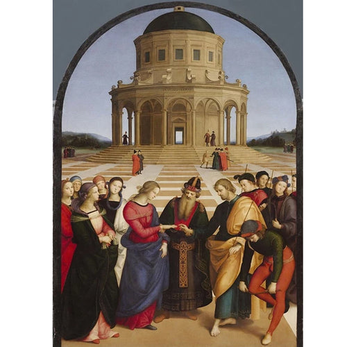 Marriage of the Virgin - Raphael DIY Painting By Numbers Kit