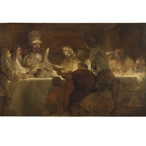 The Conspiracy of Claudius Civilis - Rembrandt DIY Painting By Numbers Kit