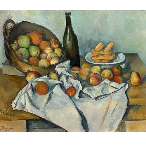 The Basket Of Apples - Paul Cezanne DIY Painting By Numbers Kit