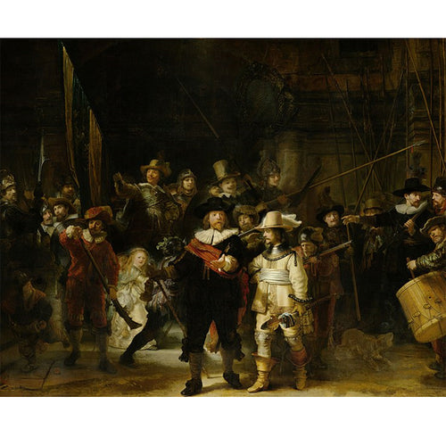 The Night Watch - Rembrandt DIY Painting By Numbers Kit