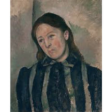 Portrait Of Madame Cézanne With Loosened Hair - Paul Cezanne DIY Painting By Numbers Kit