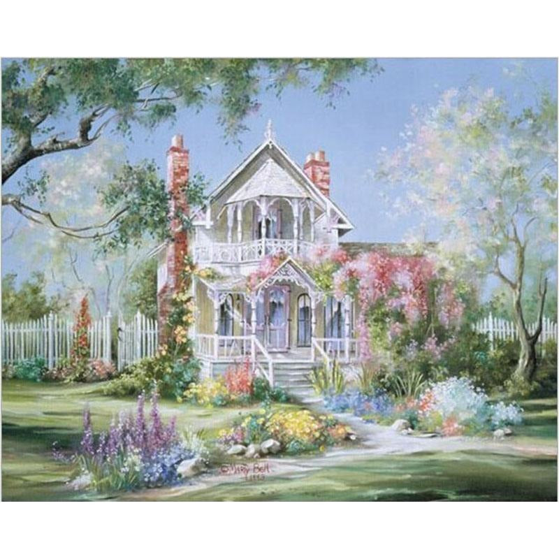 Fairytale House - DIY Painting By Numbers Kits