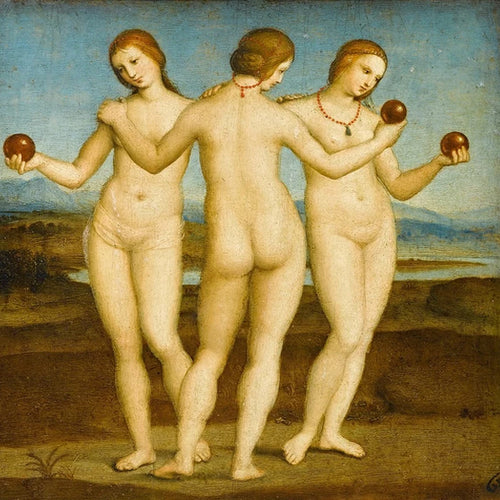 Three Graces - Raphael DIY Painting By Numbers Kit