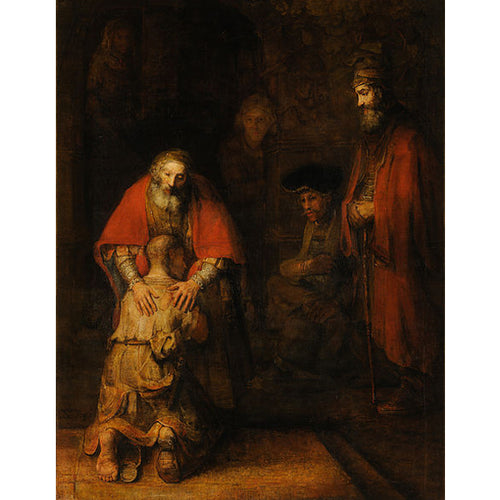 The Return of the Prodigal Son - Rembrandt DIY Painting By Numbers Kit