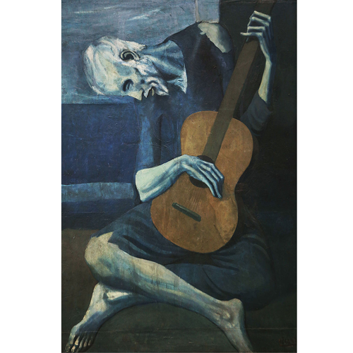 THE OLD GUITARIST - Pablo Picasso 5D DIY Paint By Number Kit