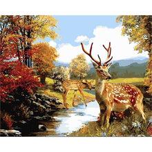 Deers in a Jungle - DIY Painting By Numbers Kits
