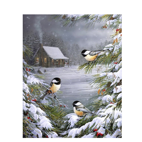 A Christmas Beautiful Night - DIY Painting By Numbers Kit