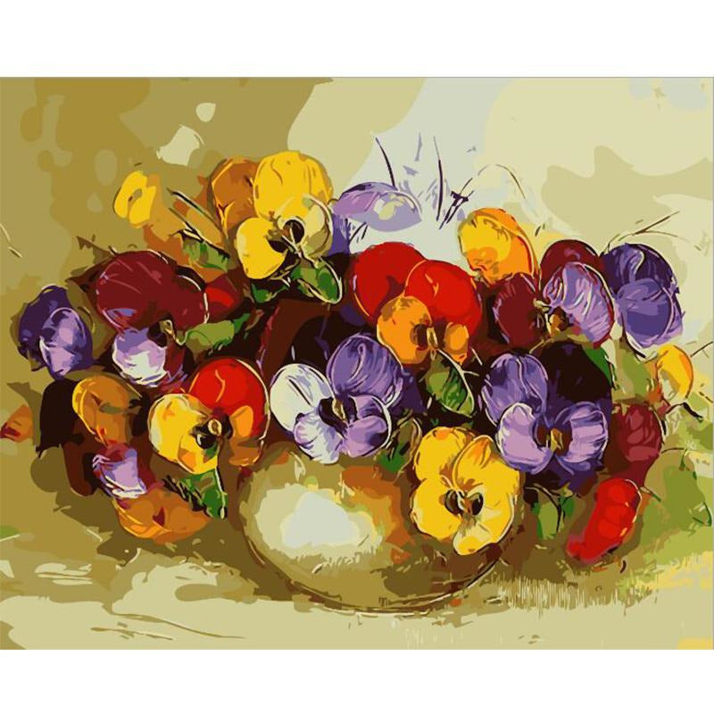Blooming Season - DIY Painting By Numbers Kit