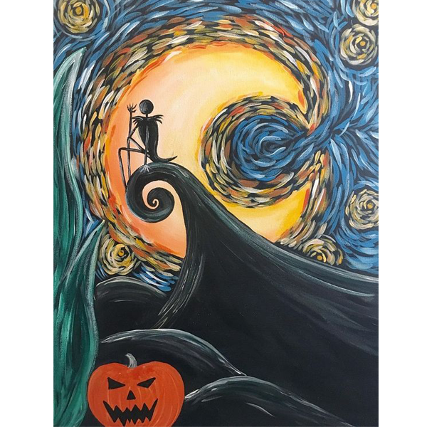 Spooky Guy - Halloween 5D DIY Paint By Number Kit