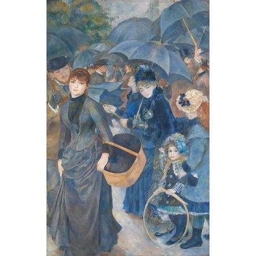 The Umbrellas - August Renoir DIY Painting By Numbers Kit