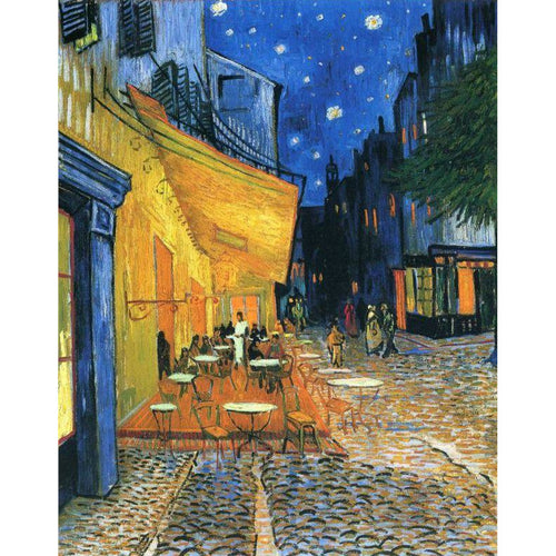 Vincent van Gogh - Cafe Terrace at Night - DIY Painting By Numbers Kit
