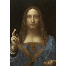Salvator Mundi - Leonardo Da Vinci DIY Painting By Numbers Kit