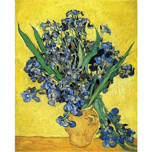 Vincent van Gogh - Still Life with Irises - DIY Painting By Numbers Kit