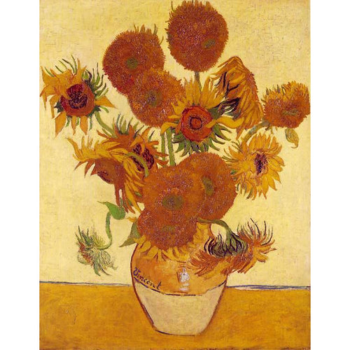 Vincent van Gogh -	The Sunflowers - DIY Painting By Numbers Kit