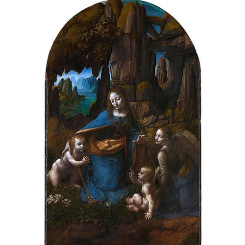 Virgin Of The Rocks - Leonardo Da Vinci DIY Painting By Numbers Kit