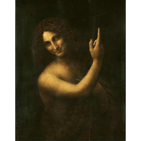 St. John The Baptist - Leonardo Da Vinci DIY Painting By Numbers Kit