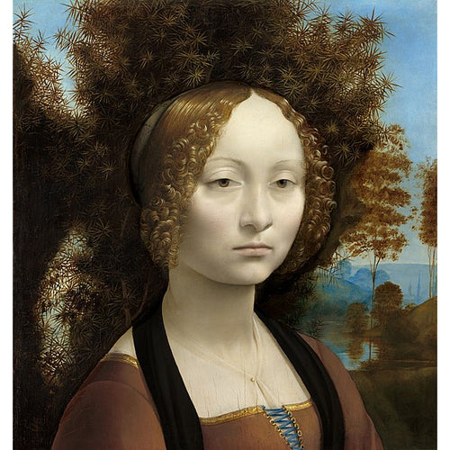 Ginevra de' benci - Leonardo Da Vinci DIY Painting By Numbers Kit