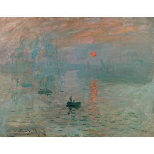 Impression , Sunrise - Claude Monet 5D DIY Paint By Number Kit