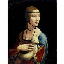 Lady With An Ermine - Leonardo Da Vinci DIY Painting By Numbers Kit