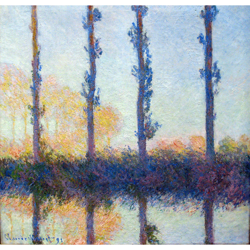 Poplar Series - Claude Monet 5D DIY Paint By Number Kit