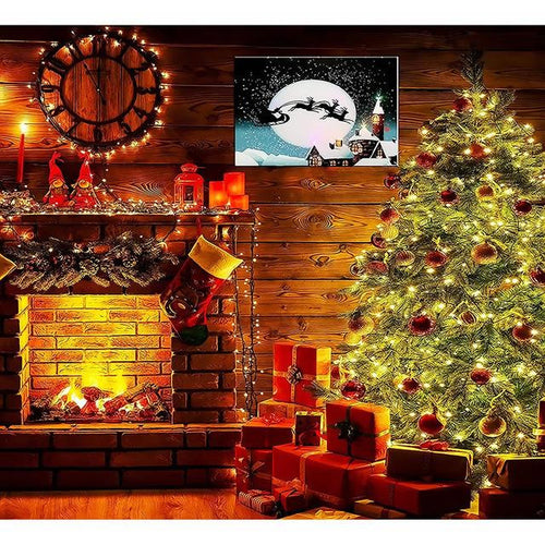 Christmas Eve House - DIY Painting By Numbers Kits