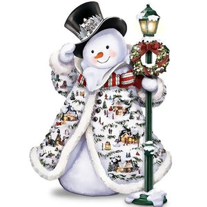 Snowman Christmas - DIY Painting By Numbers Kits