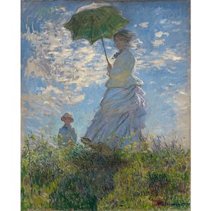 Woman With A Parasol - Claude Monet 5D DIY Paint By Number Kit